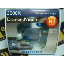 Philips Diamond Vision H1 H3 H4 H7 Hb3 Hb4 5000k Tipo Xenon