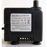 Bombinha De Agua Motor Submersa P/ Fontes Haibao Hb - 337