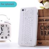 Capa Silicone Iphone 5 5s Se - Pc Keyboard Teclado