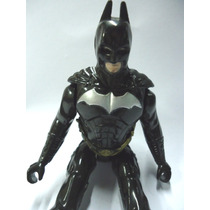Batman Tradicional Todo Negro - Cerca De 15 Cm