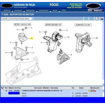 Coxim Direito D Motor Focus Zetec 1.8 E 2.0 16v De 00a05