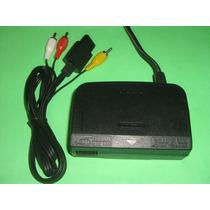 Kit Nintendo 64 Cabo Av Orig Fonte 100 220v Orig N64 Combo
