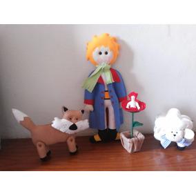 Personagens Kit Pequeno Príncipe Em Feltro