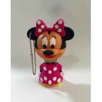 Pendrive Usb 8 Gb Minnie Mouse Disney Rosa Pronta Entrega