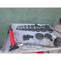 Ponchador Hydraulico Tipo Knockout Para 4 Pulgadas