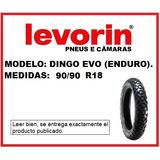 Cubierta Levorin 90/90 R18 Dingo Evo (enduro)