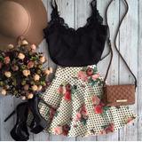 Vestido Lindo Florido Curto Mulheres Verão Sexy Importado