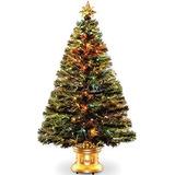 Árbol De Navidad Árbol De Fibra Óptica 3