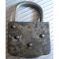 Antiguo Candado Aleman Abus Made In Germany