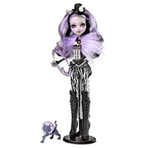 Juguete Monster High Freak Chic Du Clawdeen Lobo Muñeca
