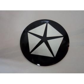 Emblema Crysler Para Rodas Esportivas 50mm
