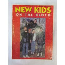 Álbum De Figurinhas New Kids On The Block