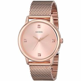 Reloj Guess Dama U0280g2 4 Diamantes Acentuado |watchito|