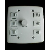 Controle Para Ventilador De Teto 4x4 Com 4 Interruptores
