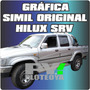 Calcos Toyota Hilux Srv Laterales Calcomania Ploteoya