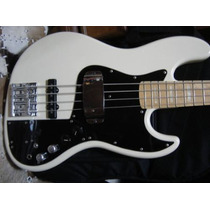 Baixo Fender Marcus Miller Japan Jazz Bass Olympic White