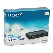 Hub Switch Tp-link Tl-sf1016d 16 Portas 10/100mbps