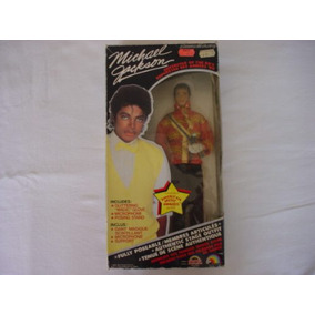 Boneco Michael Jackson 30cm American Music Awards Novo 1984
