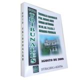 Guia Tribunales Agosto De 2009 Nacionales Bs As Caba S/cd