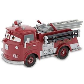 Disney Pixar Cars Red Firetruck - Bombeiro Ruivo