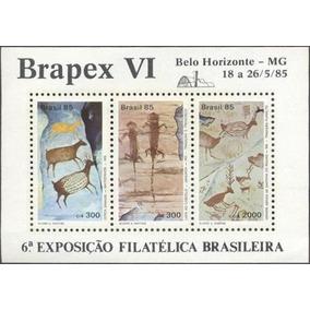 Bloco Brapex Vi- Rhm B-69 - Ano 1985- Mint