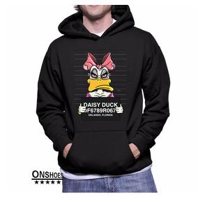 Moletom Blusa Swag Daisy Duck Thug Life Gangsta Mugshot Dtg 27a59aa353d