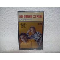 Fita K7 Original Peão Carreiro & Zé Paulo- Os Diplomatas