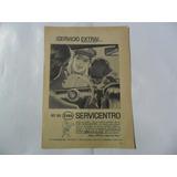 Antigua Publicidad Esso Servicentro El Reporter 1963
