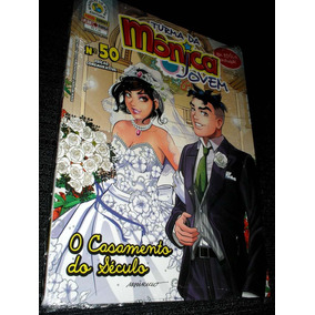 Turma Da Monica Jovem Nº 50 Com Poster - O Casamento