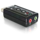 Placa Som Usb Adaptador Áudio 7.1 P2 Pc Notebook Barato T11