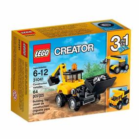 Lego Creator - 3 Em 1 - Veículos De Construção - 31041