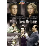 Dvd New Orleans Louis Armstrong, B.holiday, Arturo Cordoba