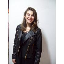 Jaqueta De Couro Feminina Perfecto
