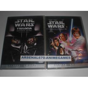 Star Wars Una Nueva Esperanza Y Dvd Material Extras 2 Discos