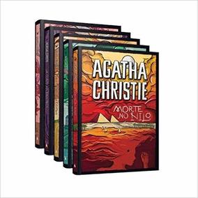 Agatha Christie Kit Com 5 Livros Morte No Nilo Nemesis