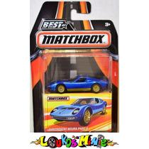 Matchbox Best Lamborghini Miura P400 S 2016 Lacrado 1:64
