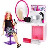 Barbie - Set Peluqueria - Salón De Belleza - Mattel