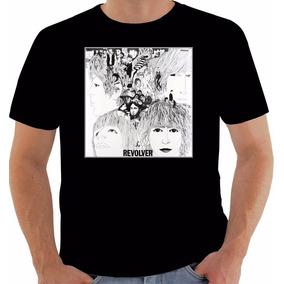 Camiseta Original Disco The Beatles Revolver 1966