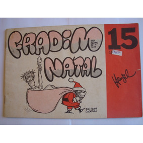 Revista Fradim Nº 15 Dezembro 1976 Do Henfil Fradim No Natal