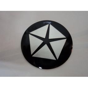 Emblema Adesivo Crysler Para Rodas Esportivas 55mm