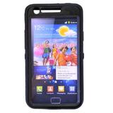 Capa Para Samsung Galaxy S2 I9100 Otterbox Preta + Película
