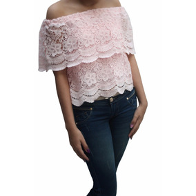 Bl1226 Blusa Campesina Rosada, It Girls Colombia