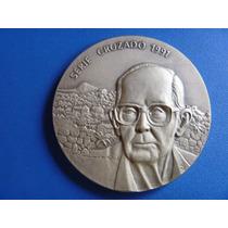 Medalha Prata-900-carlos Drum.andrade-casa Moeda-300 Exempl.