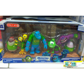 Universidade Monstros - Monsters University - Box 6 Figuras