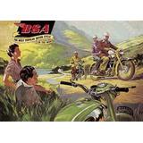 15499- Placa Decorativa Moto Motorcycle Bsa Motocicleta