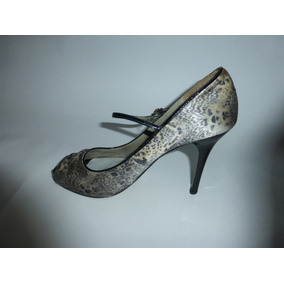 Zapatos Zapatos Zapatos Federal Dama Distrito Mujer Plateado Solo Lobo OqOnvgWZf 900509