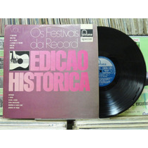 Os Festivais Da Record Vol 1 Edição Histórica - Lp Fontana