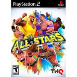 Jogo Para Ps2 Playstation 2 Wwe All Stars Lacrado Thq Usa