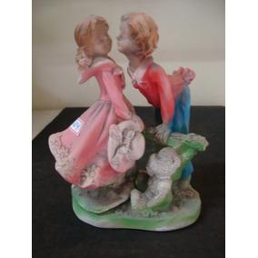 #3724# Estatueta Antiga, Casal De Namorados!!!