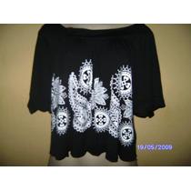 Bn042 - Bata Preta Indiana Com Silk Manequim U